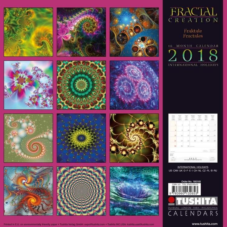 Calendar 2020 Fractal Creation