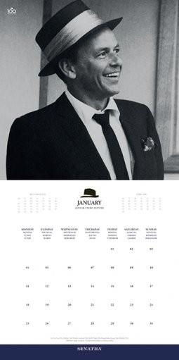 Calendar 2020 Frank Sinatra