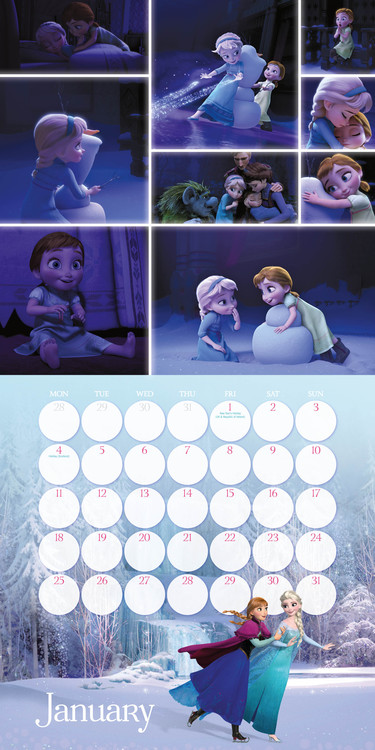 Frozen Calendars 2020 On Ukposters Europosters
