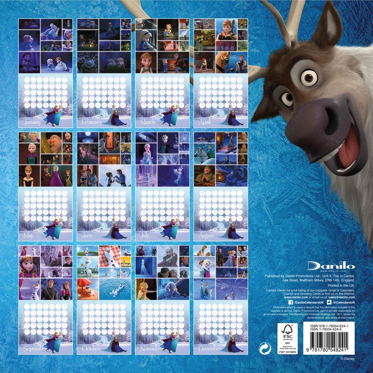 Calendrier Destiny 2.Calendar 2020 Frozen