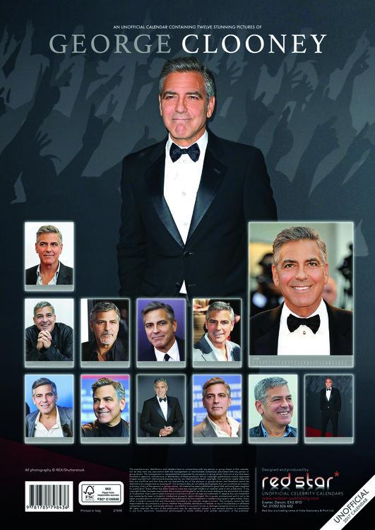 Calendar 2020 George Clooney