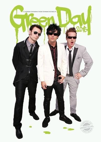 Calendar 2017 Green Day