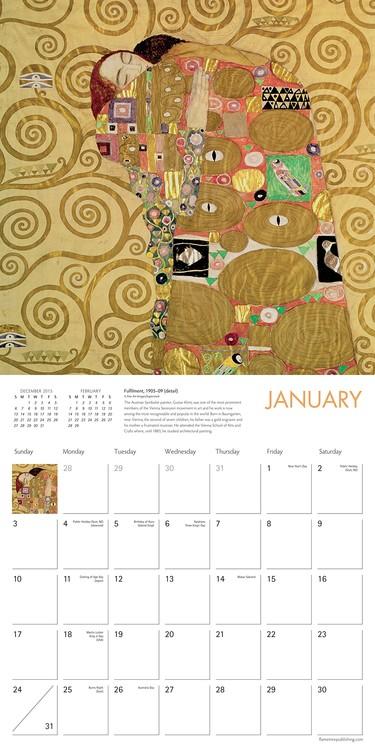 Calendar 2021 Gustav Klimt