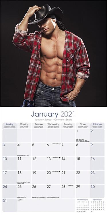 Calendar 2021 Guys