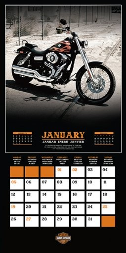 Harley Davidson   Calendars 2021 on UKposters/Abposters.com