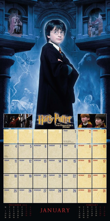 Harry Potter   Calendars 2021 on UKposters/Abposters.com