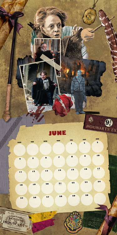 Calendar 2019  Harry Potter