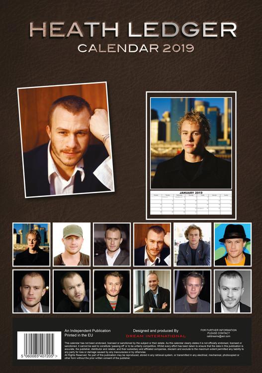 Calendar 2020  Heath Ledger