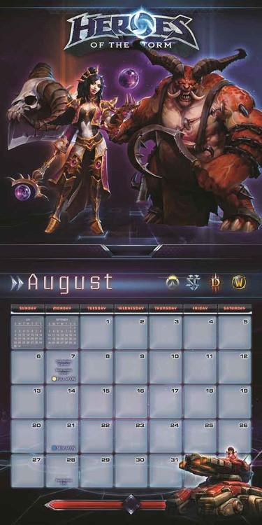Calendar 2018 Heroes of the Storm