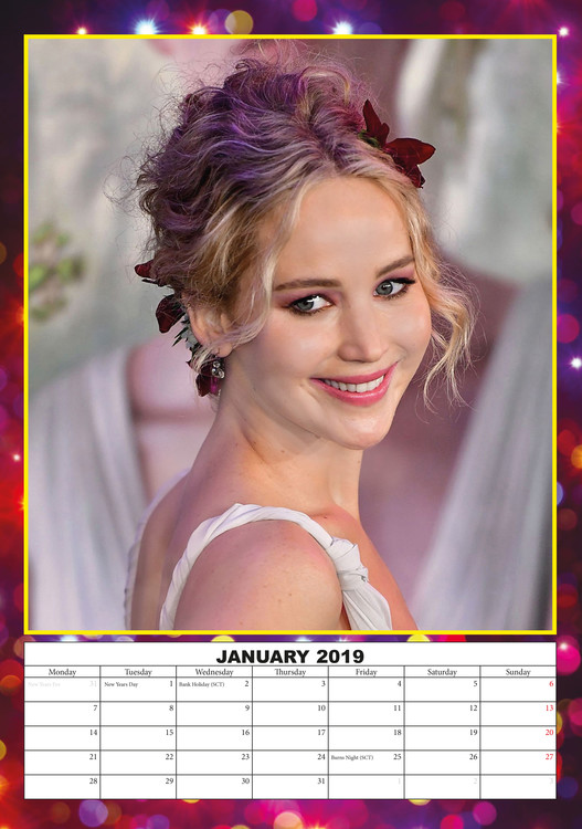 Jennifer Lawrence Calendars 2021 On Ukposters Europosters