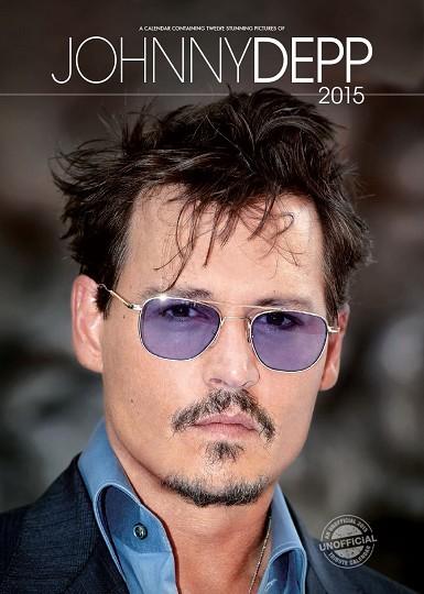Johnny Depp - Calendar 2016