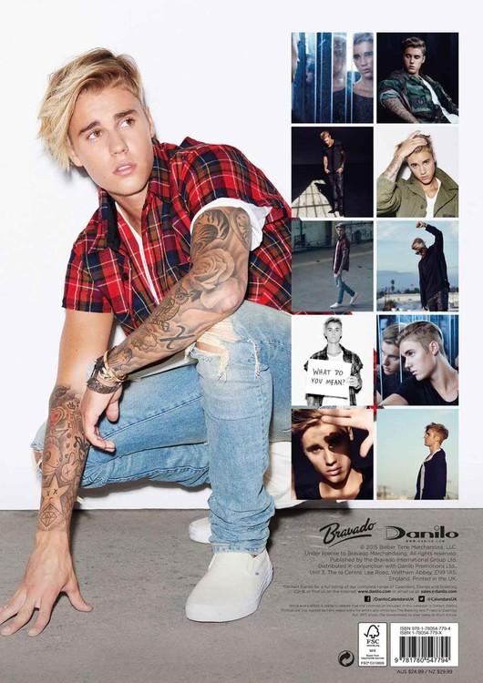 Calendar 2020 Justin Bieber