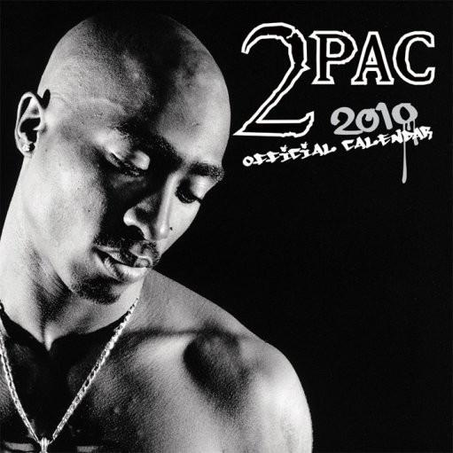 Calendar 2017 Kalendář 2010 Tupac