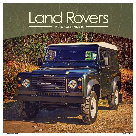 Calendrier Fun Car 2020.Land Rover Calendars 2020 On Ukposters Ukposters