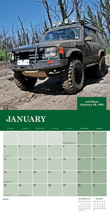 Calendar 2018  Land Rover