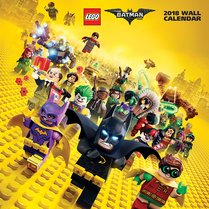 Calendrier Lego 2021 Lego Batman   Calendars on UKposters/Abposters.com