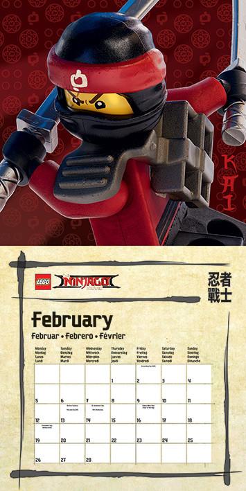 February Lego Calendar 2020 Lego Ninjago Movie   Calendars 2020 on UKposters/Abposters.com
