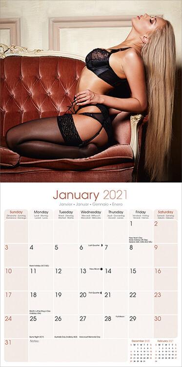 Calendar 2021 Lingerie