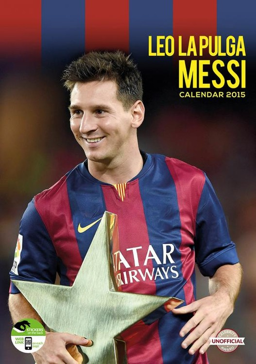 Lionel Messi - Calendars 2021 on UKposters/UKposters