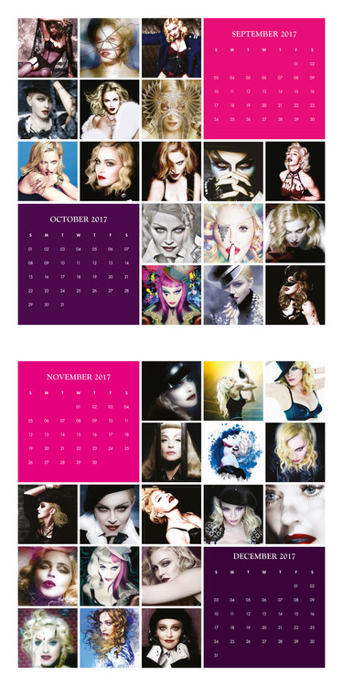 Calendario Madonna 2020.Calendar 2020 Madonna
