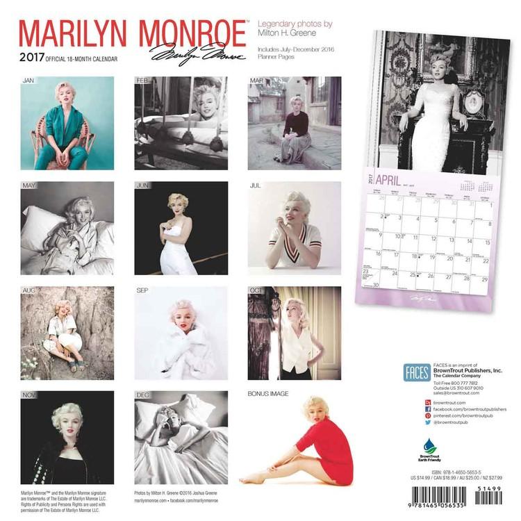 marilyn monroe naptár Marilyn Monroe   Calendars 2019 on UKposters/Abposters.com marilyn monroe naptár