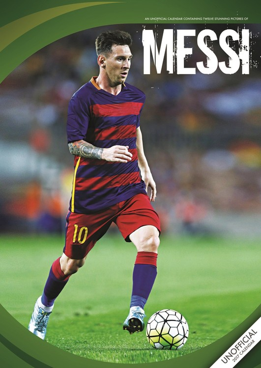 Calendar 2017 Messi