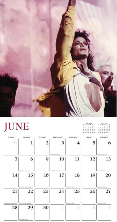 Calendar 2018  Michael Jackson