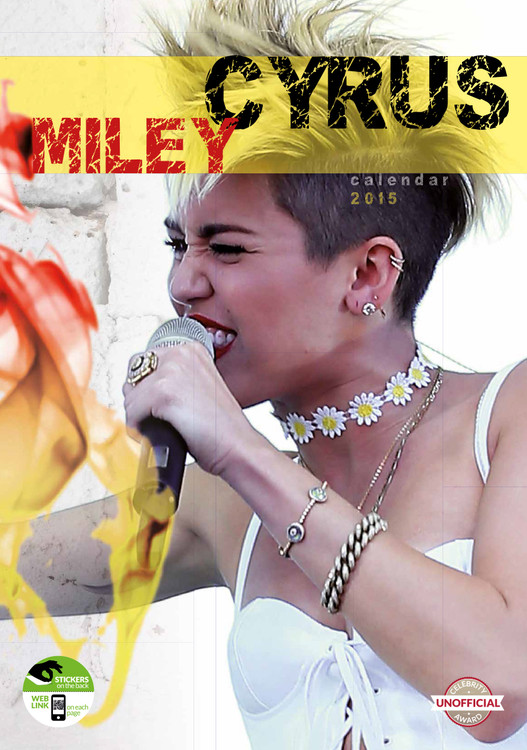 Calendar 2017 Miley Cyrus