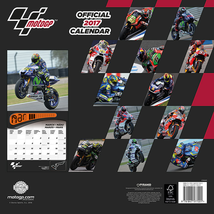 Moto GP   Calendars 2021 on UKposters/Abposters.com