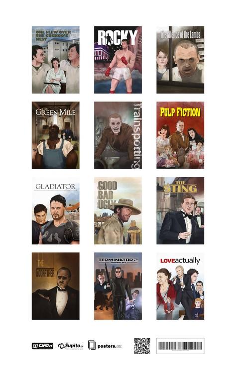 Calendar 2018  Movie Calendar 2017 - A Tribute To Movie Classics