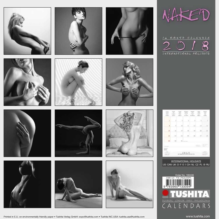 Naked   Calendars 2021 on UKposters/Abposters.com