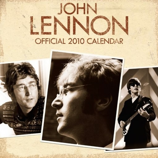 Calendar 2017 Official Calendar 2010 John Lennon