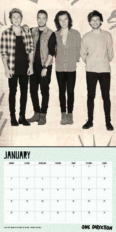 one direction naptár One Direction 1D   Calendars 2019 on UKposters/EuroPosters one direction naptár