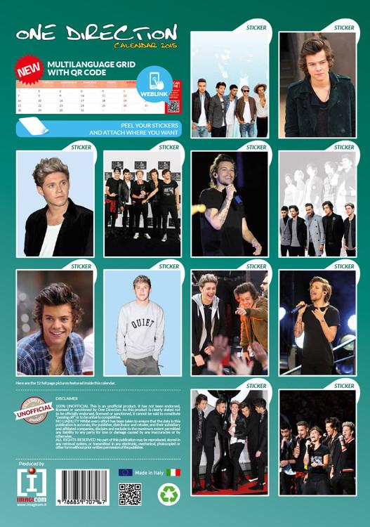 Calendar 2018  One Direction