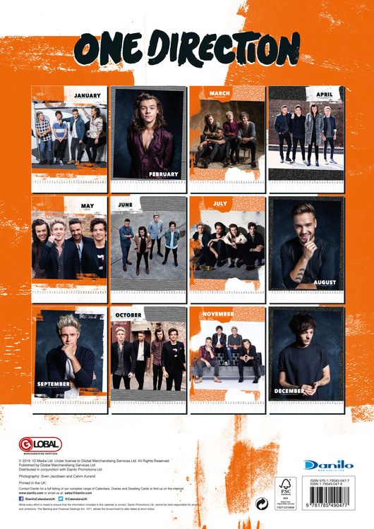 One Direction - Calendars 2020 on UKposters/EuroPosters