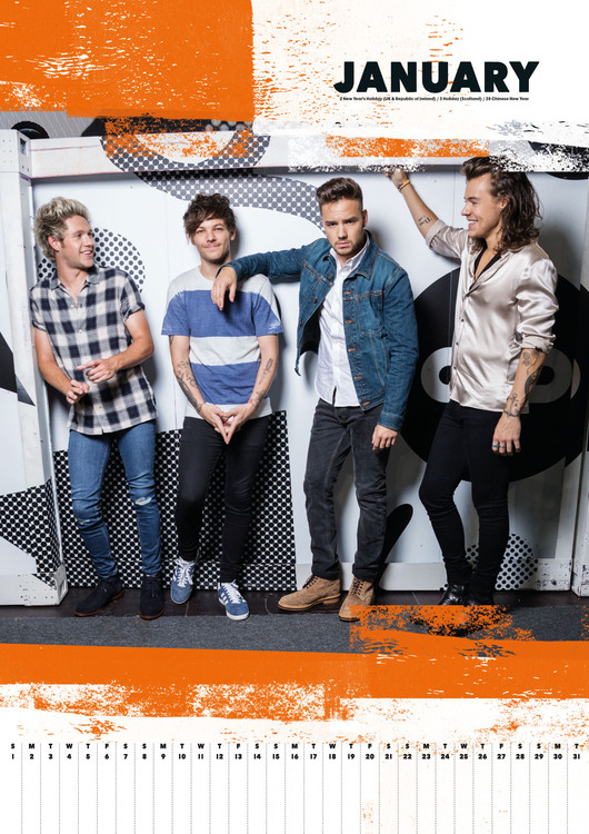 One Direction Calendars 2020 On Ukposters Europosters