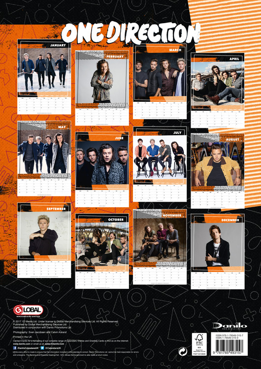One Direction   Calendars 2021 on UKposters/Abposters.com