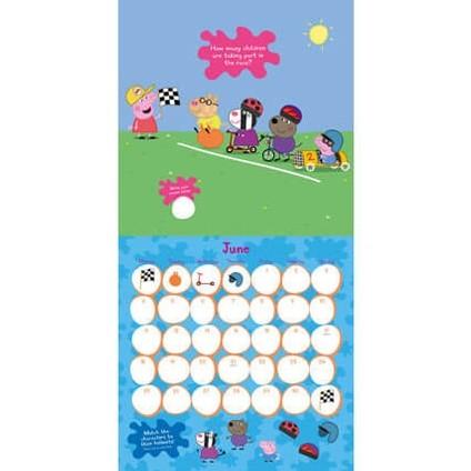 Calendario Golf 2020.Calendar 2020 Peppa Pig