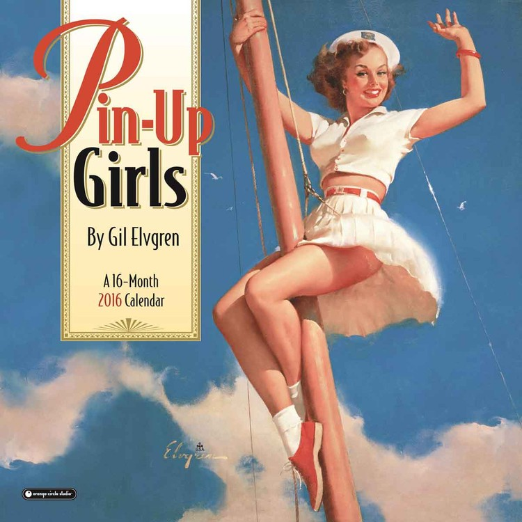 Calendar 2017 Pin-Up Girls
