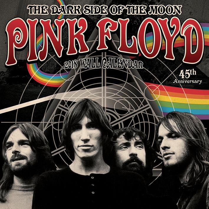 Calendar 2018 Pink Floyd