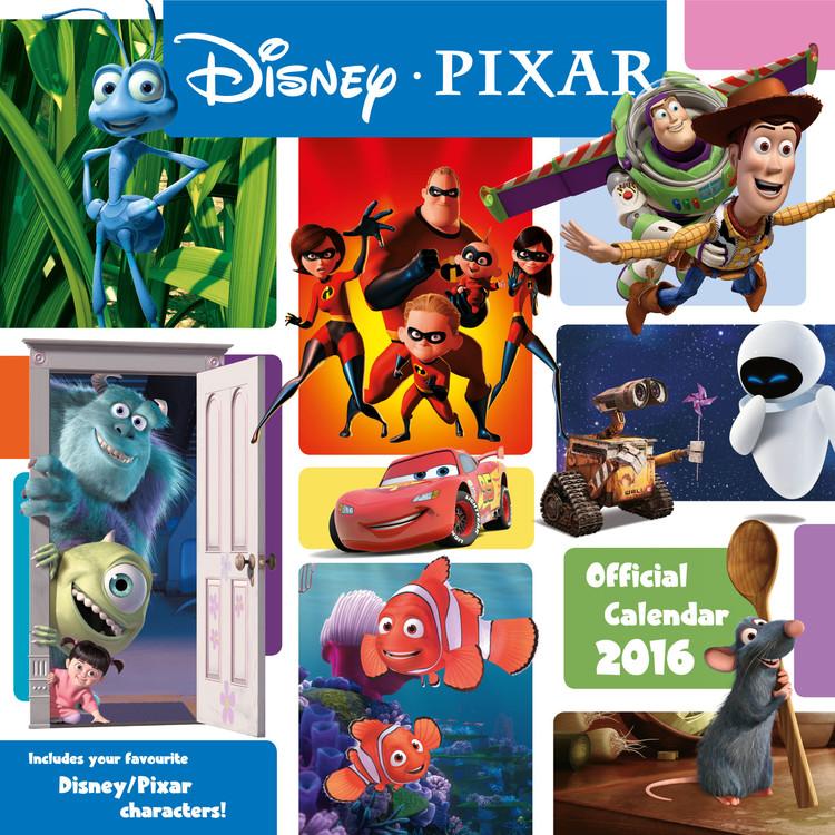 Calendar 2017 Pixar