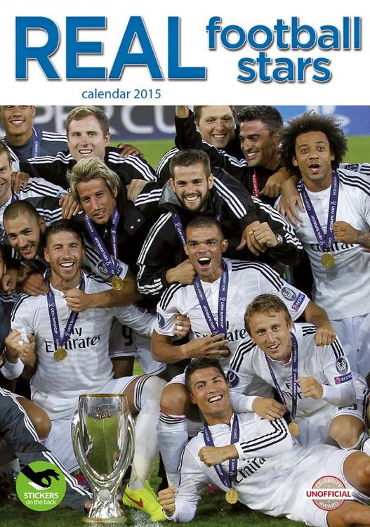 Calendar 2017 Real Madrid FC