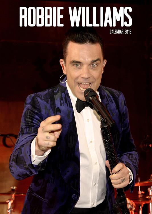 Calendar 2018 Robbie Williams