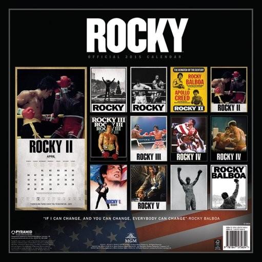 Calendar 2019  Rocky