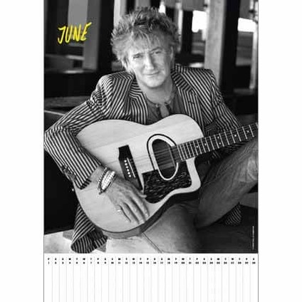 Calendar 2018  Rod Stewart