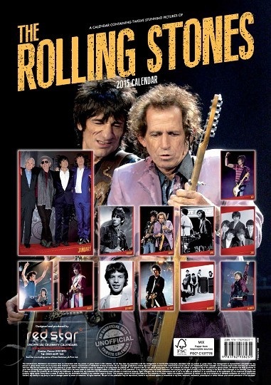Calendar 2019  Rolling Stones