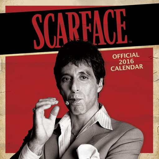scarface calendars 2019 on ukposters europosters