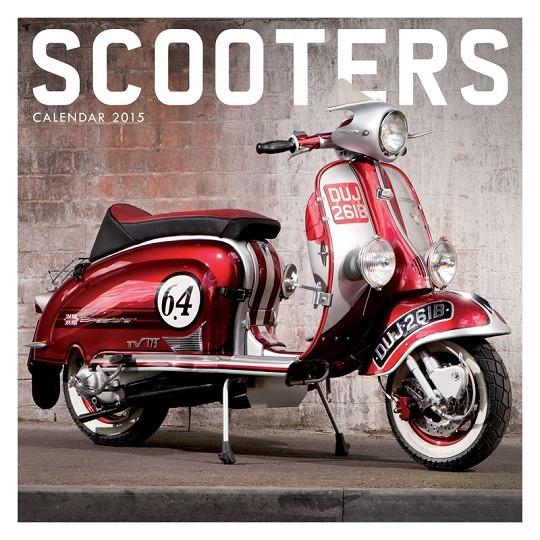 Calendar 2017 Scooter