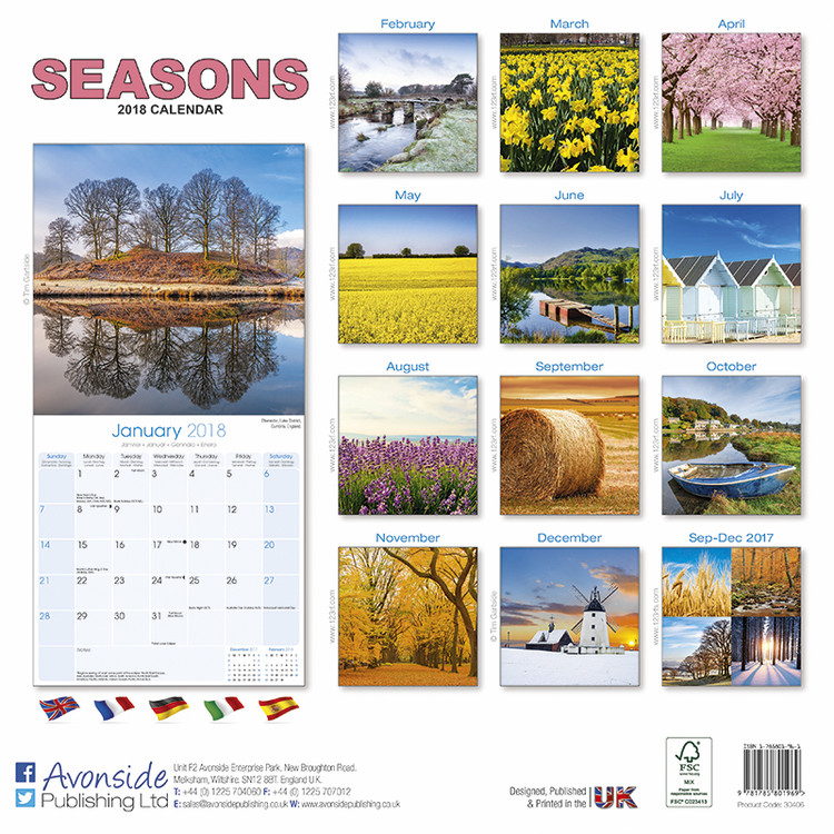 seasons calender - Hizir kaptanband co