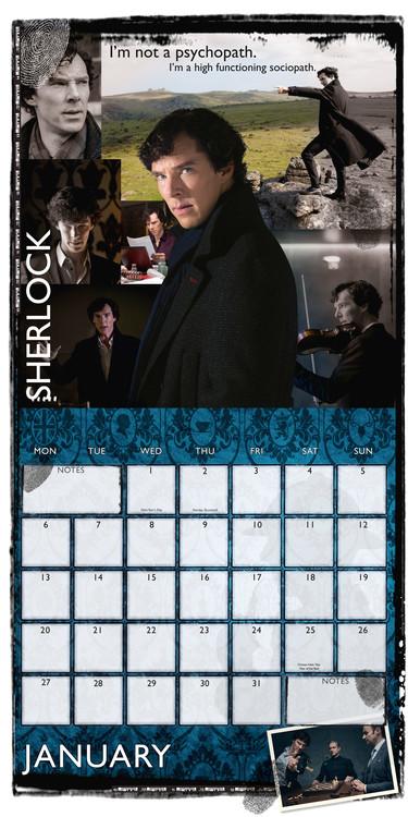 Calendar 2020  Sherlock